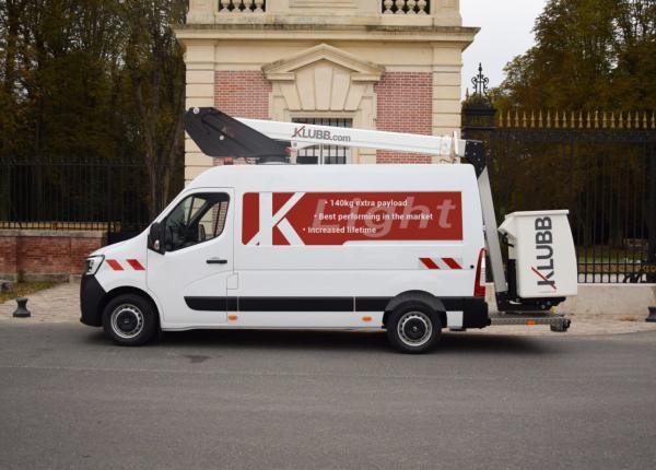 Press release: Klubb's new light van mounts range