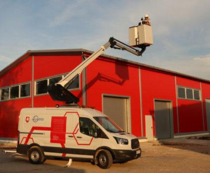 Safe Technology, our Russian distributor presents Klubb's van-mounted model K42P in Russia