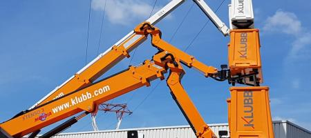 KLUBB's truck-mounted lifts: The Xtenso range