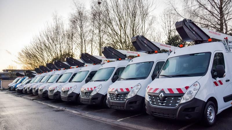 How to optimize the TCO of your fleet of aerial platforms on vehicles ?
