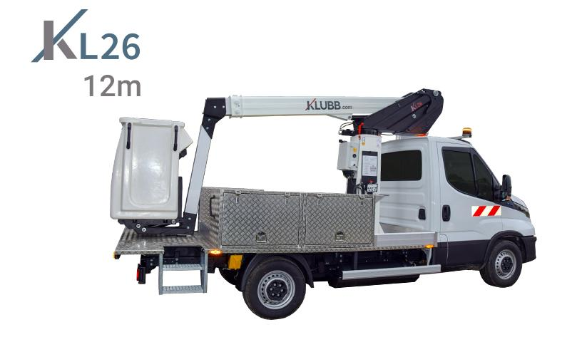 kl26 gaz chassis mounted on an iveco daily