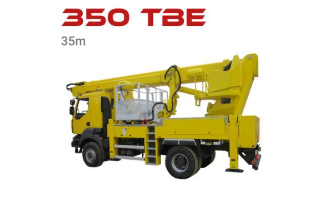 350 tbe aerial lift truck