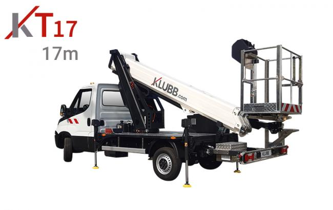 kt17 chassis mounted aerial access platforms
