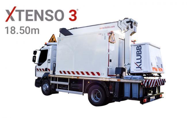 xtenso 3 truck mounted aerial platform workshop version