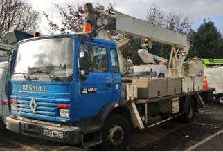 aerial platform 200tp2 lifts mounted on truck