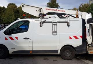 aerial platform et26nexs lifts mounted on vans < 3,5t