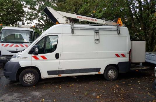 aerial platform et110 lifts mounted on vans < 3,5t