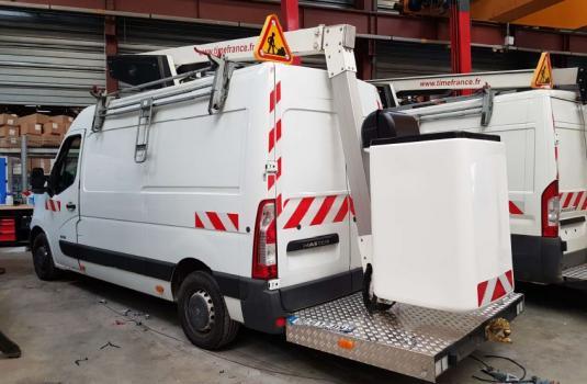 aerial platform et32le lifts mounted on vans < 3,5t
