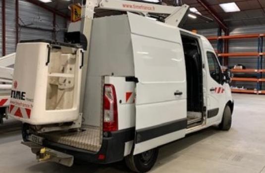 aerial platform etl26 lifts mounted on vans < 3,5t