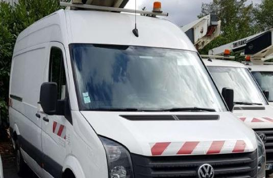 lifts mounted on vans < 3,5t