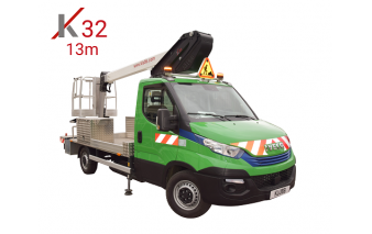 kl32 gaz chassis mounted aerial access platforms