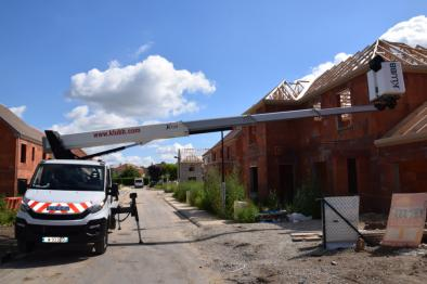 kt20 chassis mounted aerial access platforms