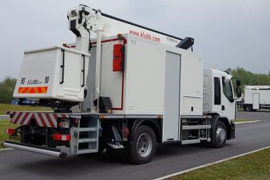 xtenso 4 truck mounted aerial platform workshop version