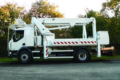 xtenso 5 aerial lift truck